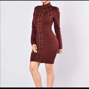 Fashion nova dress - small - new